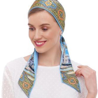 Твилли, шарфик-галстук,  дизайнерский шарф, шарф-лента My Scarf