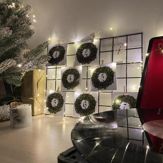 Адвент Календарь на 7 дней - новогодний, полностью укомплектован подарками