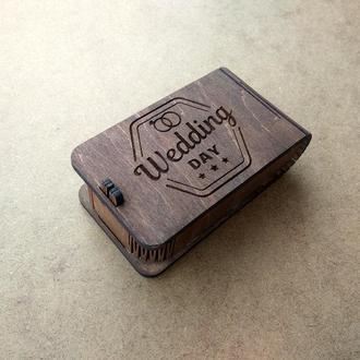 Коробочка под USB флешку. С Вашим ЛОГО