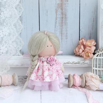 Кукла малышка с косичкой!