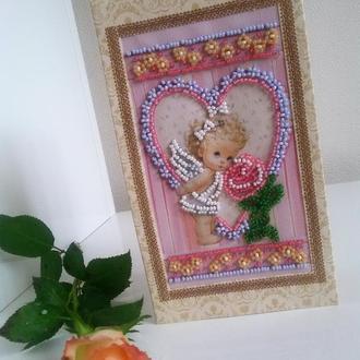 "открытка ""Ангел"""