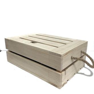 Ящик с крышкой 23х35х13