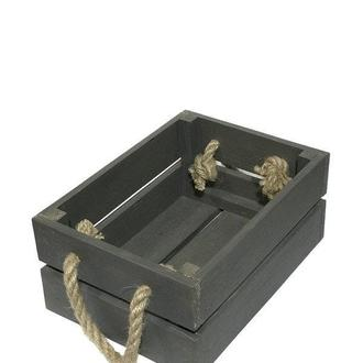 Ящик 18х25х11 коричневый