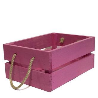 Ящик 18х25х11 розовый