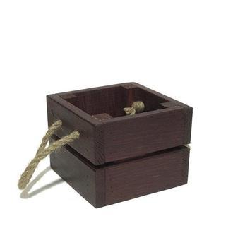 Ящик 11х11х8,5 бордовый
