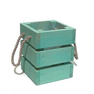 Ящик 11х11х14 мятный