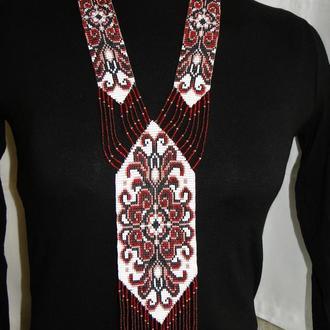 Авторское украшение - гердан в национальном стиле