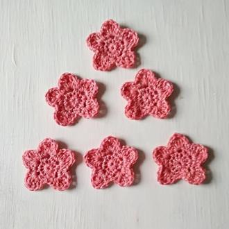 Набор из 6 цветов - звездочек