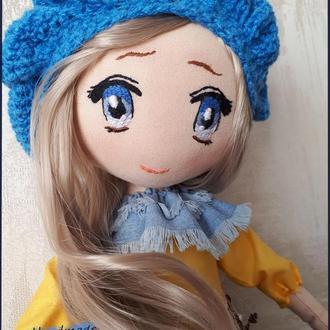 Текстильная кукла! Кукла-пакетница