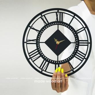 """Настенные часы из дерева """" Roman"""""""
