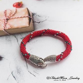 Браслет Рождественский змей