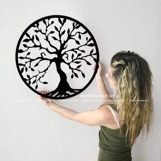 """Деревянная картина-панно """"Дерево жизни"""""""