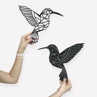 """Настенное панно """"Колибри"""" (цена указана за 2-х птиц)"""