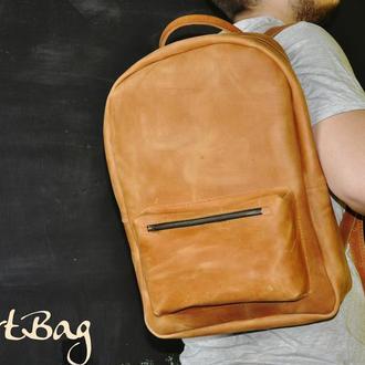 """Рюкзак """"BigBob"""" из натуральной кожи"""