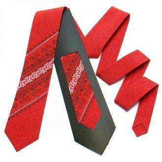 Краватка з вишивкою
