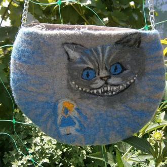 Сумка чеширский кот