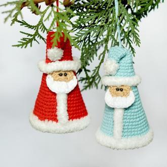 Дед Мороз с бубенчиком на елку