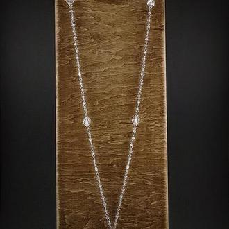 Сотуар из аметрина, хрусталя и серебра 925 пр