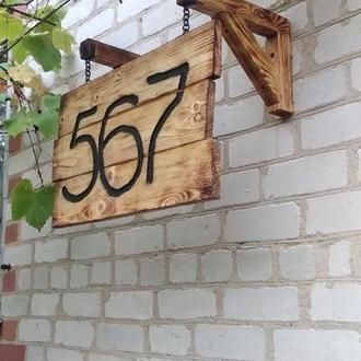 табличка номера дома или дачного участка