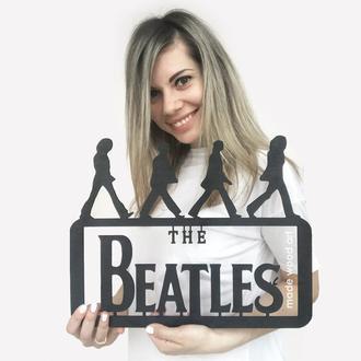 """Деревянная картина """"The Beatles"""""""