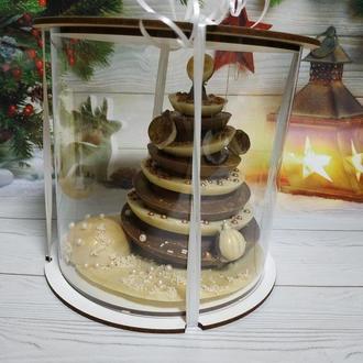 Шоколадная ёлка, ёлка из шоколада