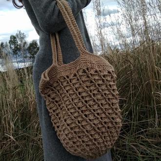 Сетка авоська  Джутовая сумка