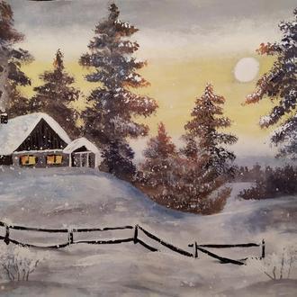 "Картина ""зимова казка"""