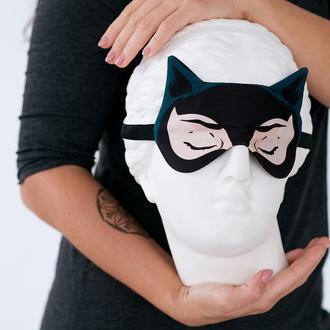 Маска для сна дизайнерская Silenta Marvel Женщина кошка