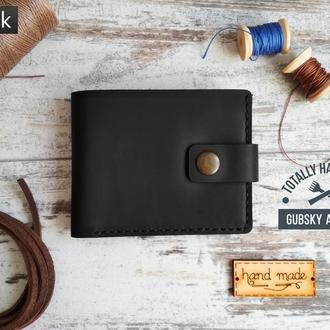 портмоне кошелек из натуральной кожи ручной пошив