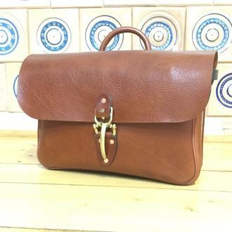 Шкіряний портфель Leather bag