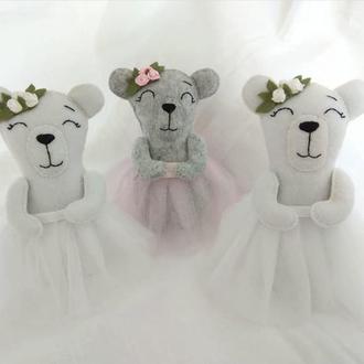 Мишка игрушка для девочки медведь