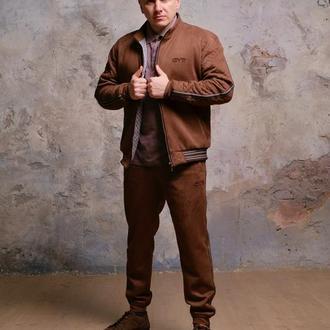 Теплый мужской дизайнерский спортивный костюм by ievenko (джентльмены)