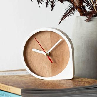 """Настольные деревянные бесшумные часы """"Scandi I"""""""