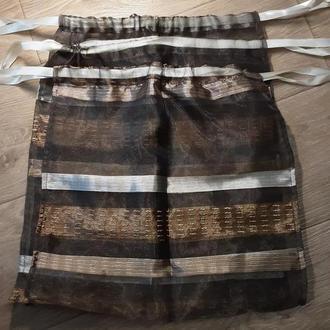 Набор многоразовых текстильных эко мешочков