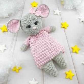 Грелка-комфортер для малыша, мышка