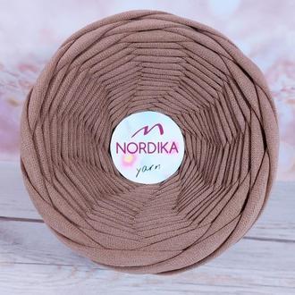 Трикотажна пряжа Nordika Yarn 7-9 мм візон 026