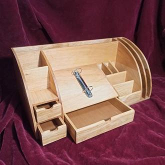 Органайзер настольный деревянный