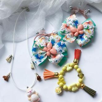 Подарунковий набір метелик з курчатком