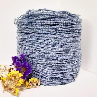 Пряжа з вовни Nordika Wool блакитна 019