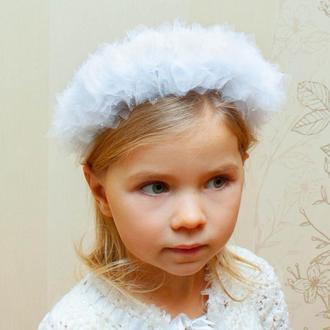 Обруч Снежинки, Корона Снежная королева, Обруч Ангел, Украшение лебедь