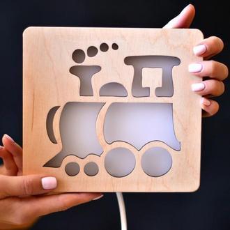 Светильник для детей - Поезд