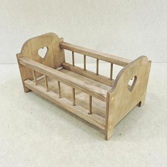 Кровать игрушечная Белль мускат