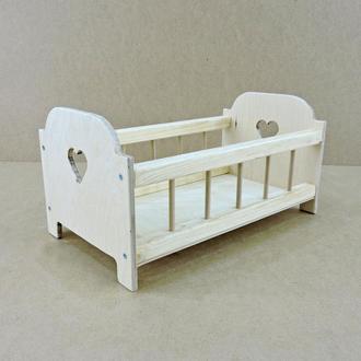 Кровать игрушечная Белль без отделки