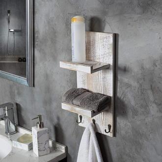 """Полка для ванной """"Лауфен"""" браш"""