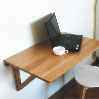 """Настенный складной столик """"Требия"""" мускат"""