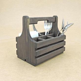 """Подставка для столовых приборов """"Райсо"""" венге"""