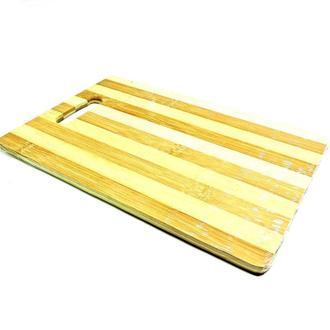 Доска разделочная кухонная бамбуковая 20х30