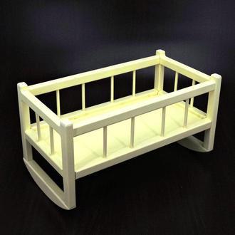 """Кровать для кукол """"Тиана"""" лимонад"""