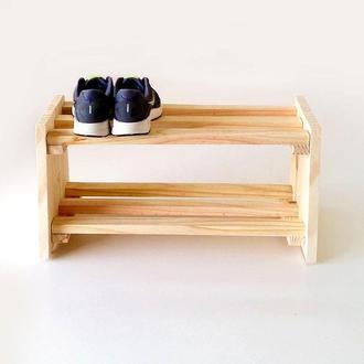"Полка для обуви ""Баскур"" бланже"