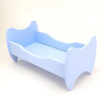 "Кровать для кукол ""Жасмин"" ирис"